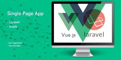 Guest Book - Laravel VueJs Single Page App
