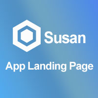 Susan - App HTML5 Landing Page Template
