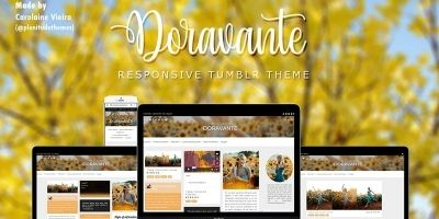 Doravante Tumblr Theme
