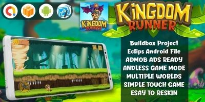 Kingdom Runner - Buildbox  Game Template