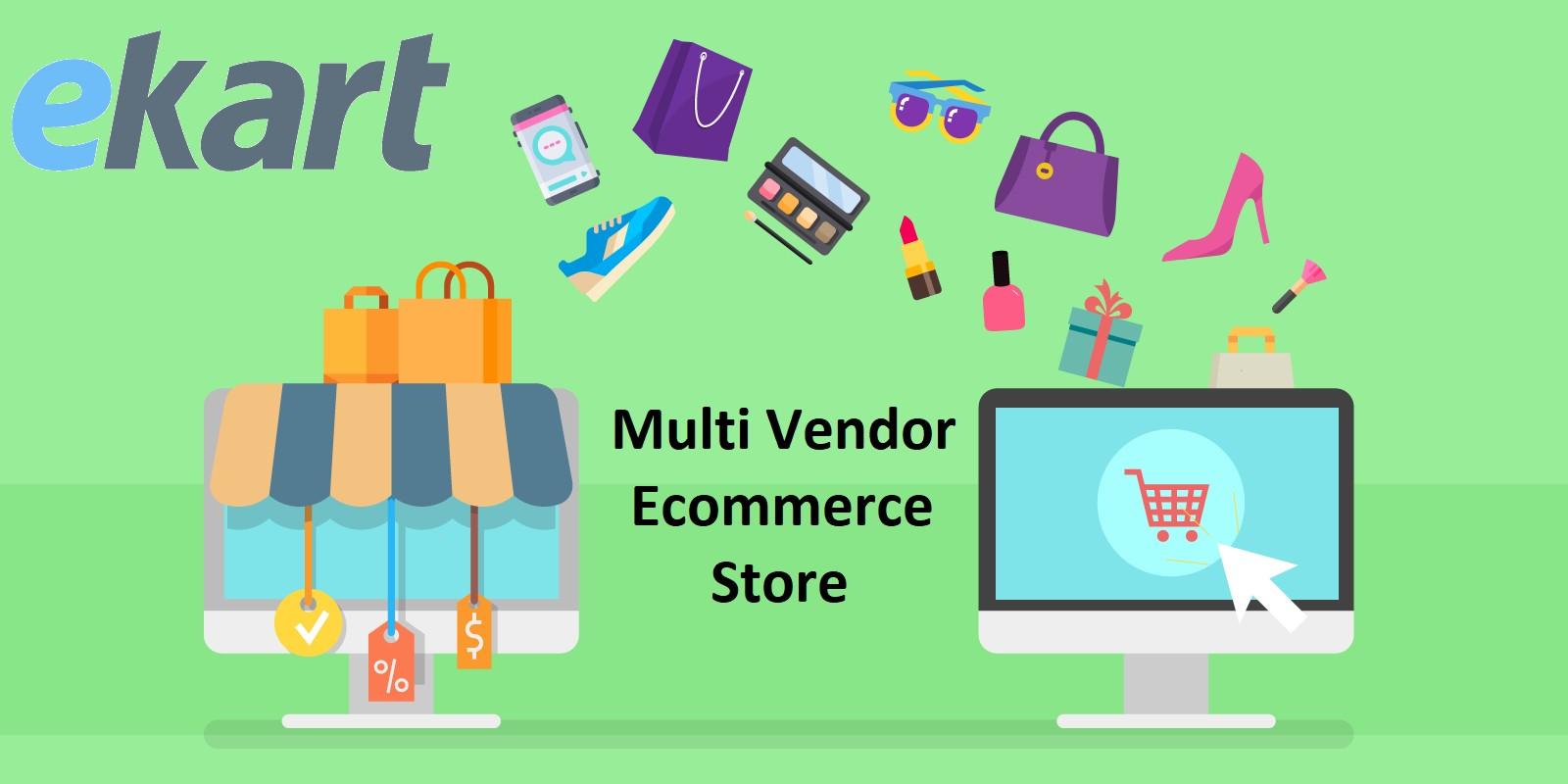 Ekart - Multi Vendor Ecommerce Store PHP