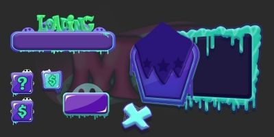 Monsters Game Ui