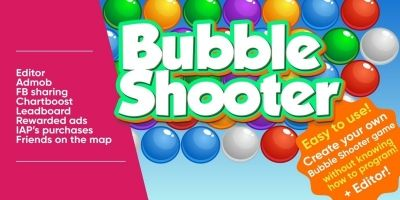 Bubble Shooter Engine For Unity