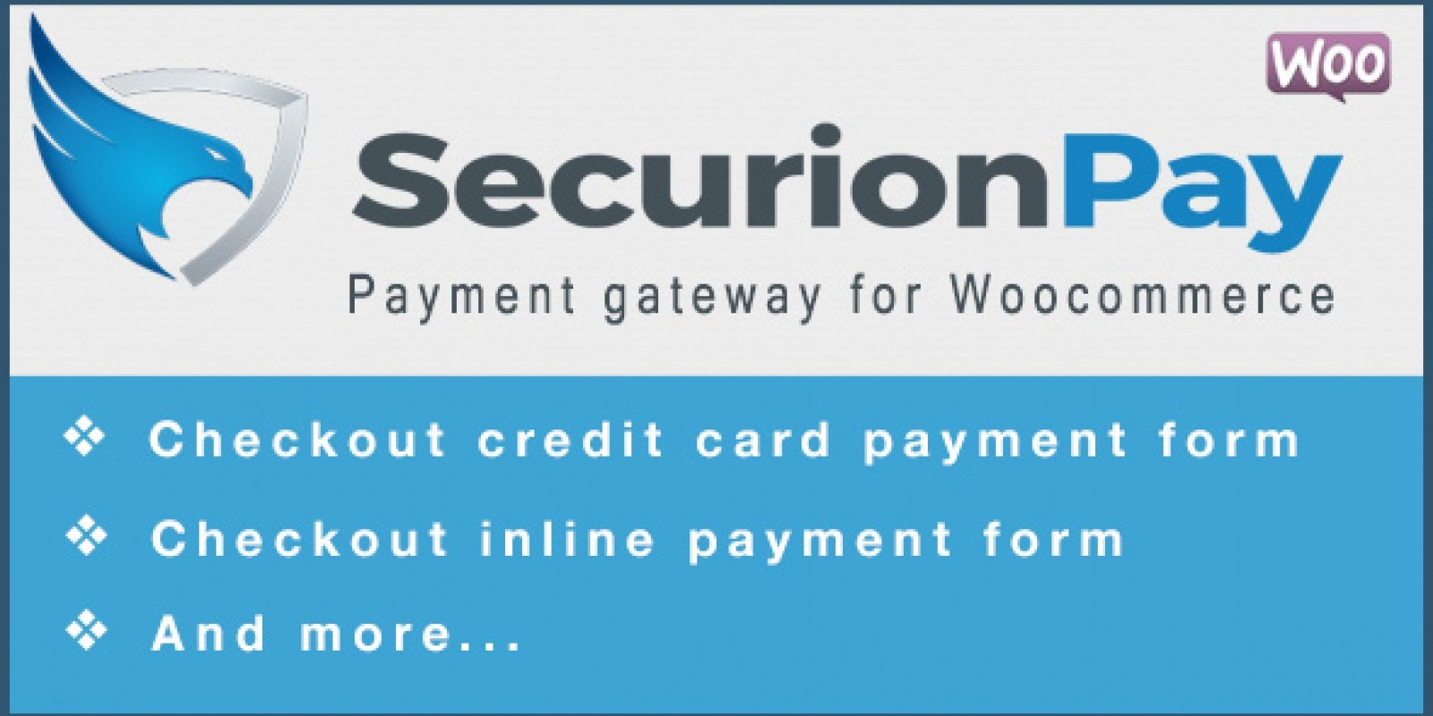 SecurionPay Payment Gateway for WooCommerce