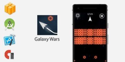 Galaxy Wars: Ship Speed - Buildbox Template