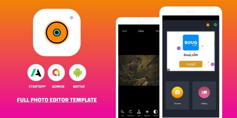 Photo Editor Android App Source Code