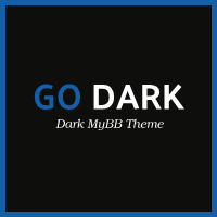 Go Dark MyBB Theme