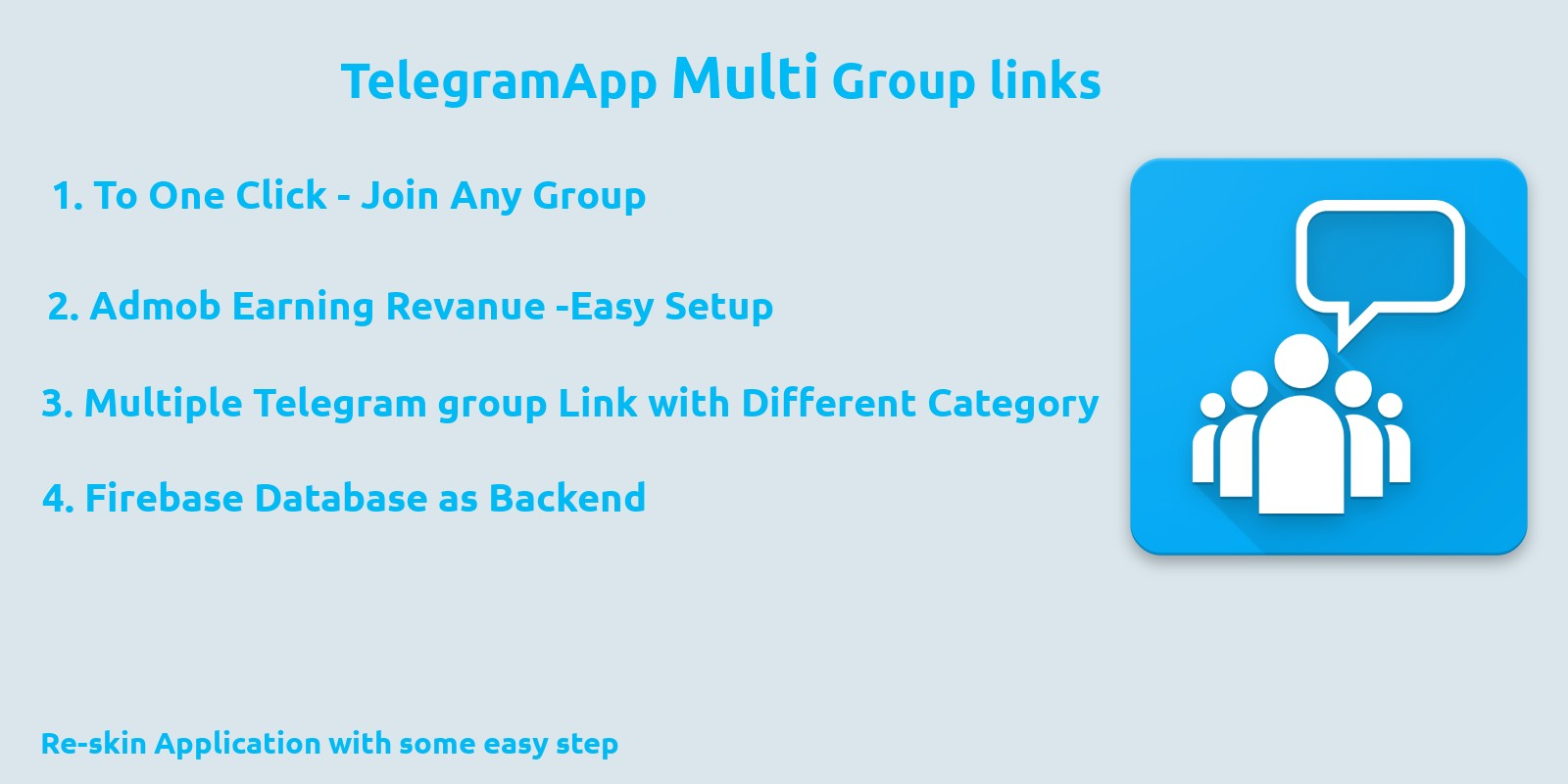 Telegram Multi Group Links - Android Source Code