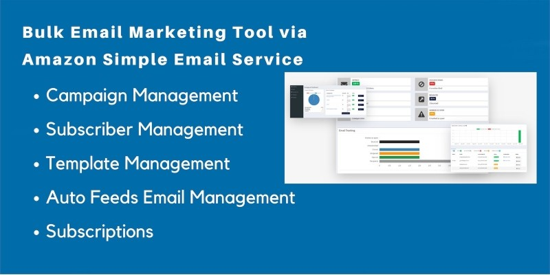 Bulk Email Marketing Tool Via Amazon SES