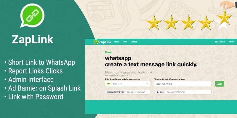 ZapLink - Generator and Management Links WhatsApp