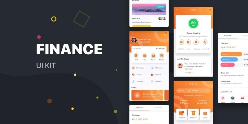 Finance Android UI kit