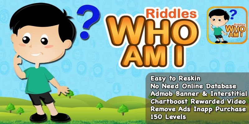 Riddles Who Am I - iOS Game Source Code