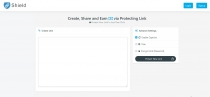 LinkShield - Link Protecting PHP Script Screenshot 1