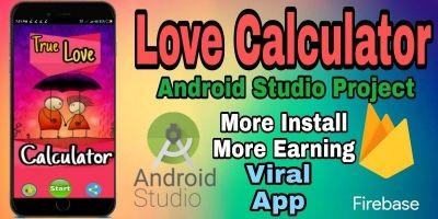 Love Calculator - Android Studio Project