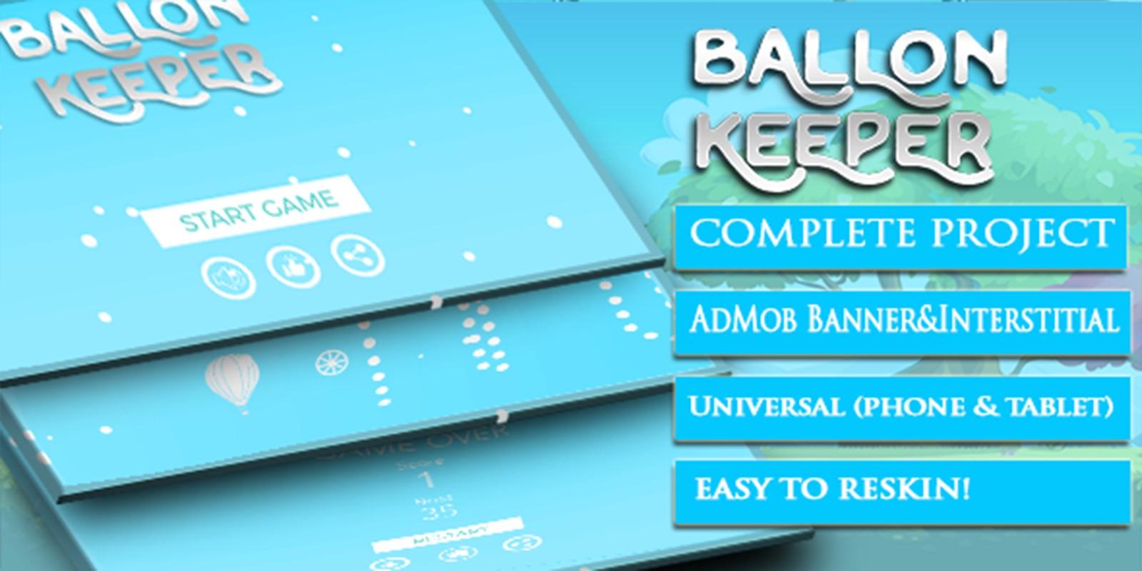 Ballon Keeper - Buildbox Template
