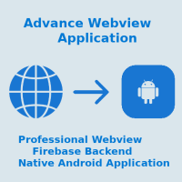 Webarjun - Android Webview App With Firebase Backe