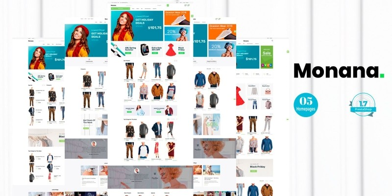 Monana Fashion - PrestaShop Theme