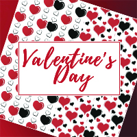Valentines Day Seamless Textures