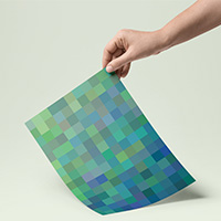 10 Pixelated Printable Backgrounds