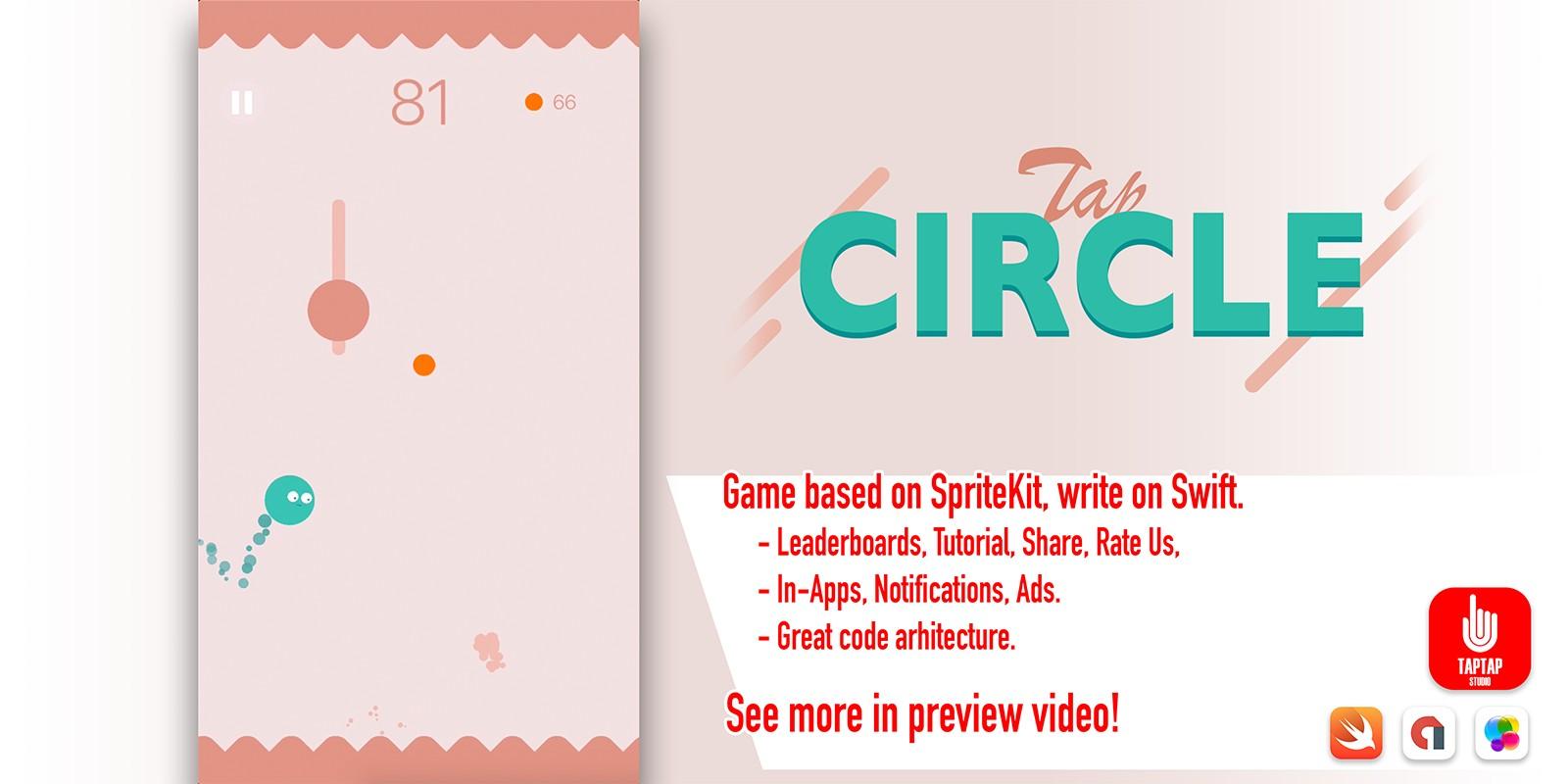 Tap Circle - iOS Game Source Code