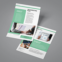 Professional Marketing Flyer Template A4