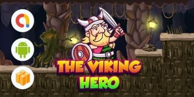 The Viking Hero - Buildbox Game Template BBDOC