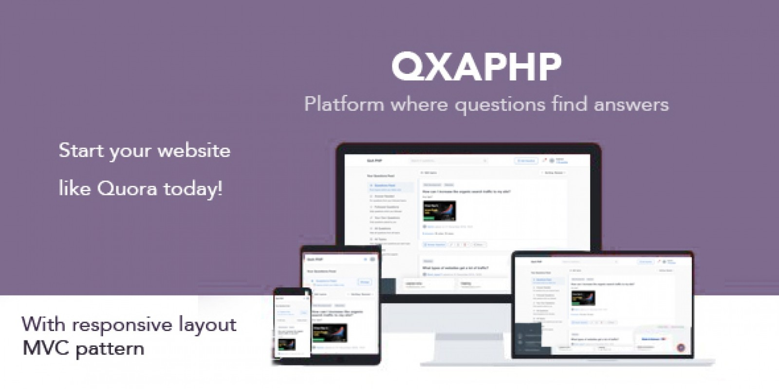 QXAPHP - Social Question And Answer Platform PHP