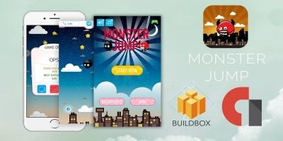 Monster Jump - Template Buildbox