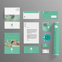 Spa Branding Identity -15 Printable PSD Templates