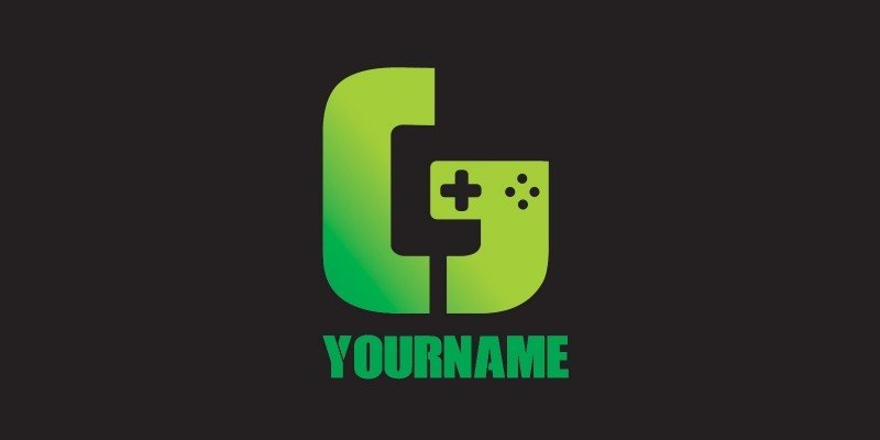 Game Logo With Letter G