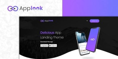 Applook -  App Landing Page