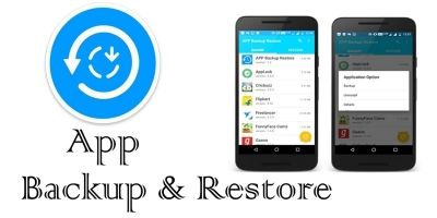 App Backup And Restore - Android Template