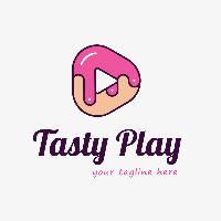 Tasty Play Logo Template