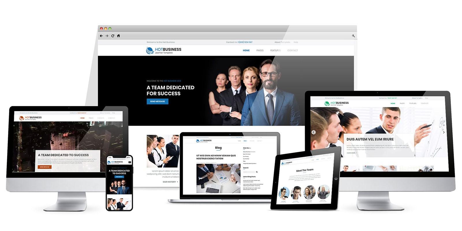 Hot Business - WordPress Gutenberg Theme