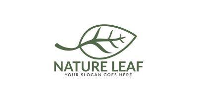 Nature Leaf Logo Design