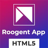 Roogent App - HTML Template