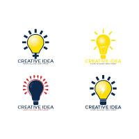Set Of Bulb Logo