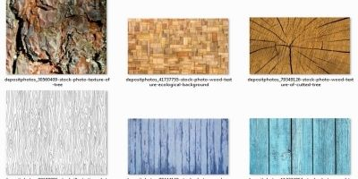 Wood Textures Patterns different colours