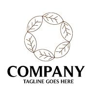 Circle Leaf Logo