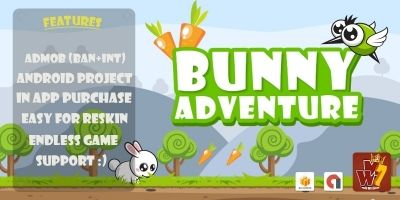 Bunny Adventure - Buildbox Template