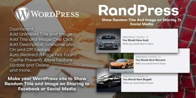 RandPress WordPress Plugin