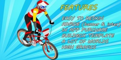 BMX King Adventure  - Buildbox Game Template