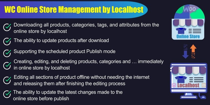 WooCommerce Store management By Localhost