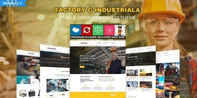 ArmStrong - Factory Industrial WordPress Theme