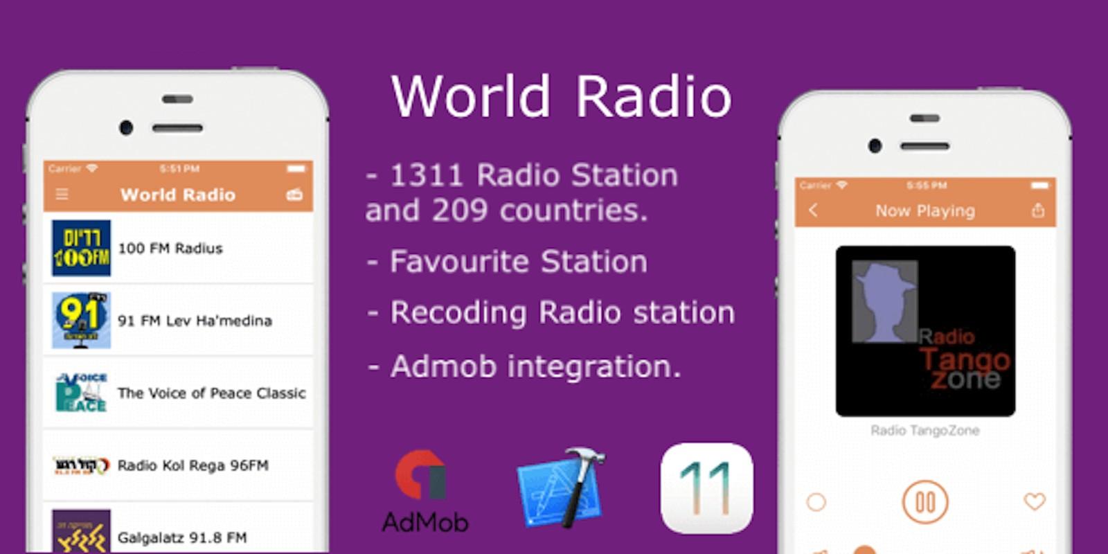 World Radio - iOS Source Code