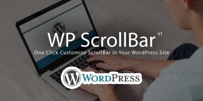 WP ScrollBar Plugin