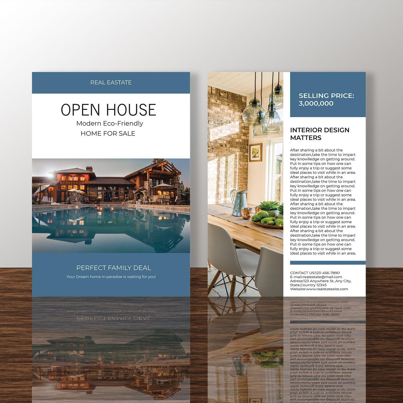 professional real estate flyer