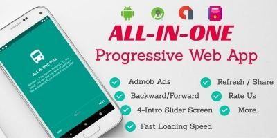 All-In-One Progressive Web App Android