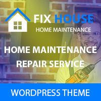 FixHouse - Repair Services WordPress Theme