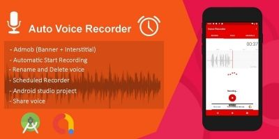 Auto Voice Recorder - Android Source Code